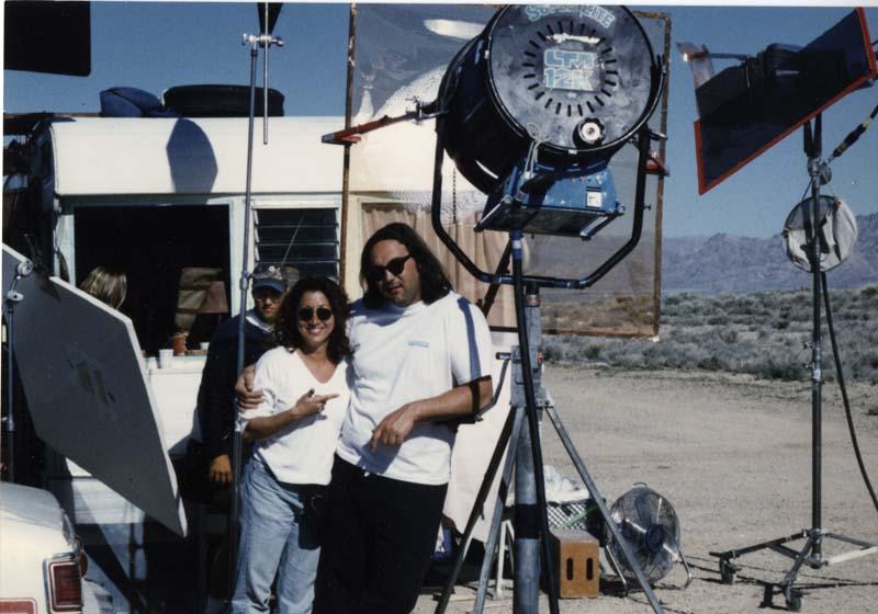 Shooting the trailer in Baja