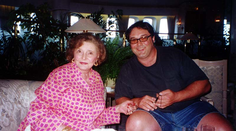 Shooting with Patricia Neal in the Carribean
